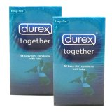 Beli Durex Kondom Together Isi 12 2 X Durex Asli