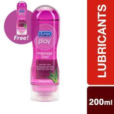 Promo Durex Play Massage 200Ml X 2 Dki Jakarta