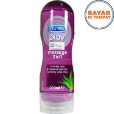 Beli Durex Play Massage 2In1 Pakai Kartu Kredit
