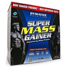 Dymatize Nutrition Super Mass Gainer 12lb - 6kg - Chocolate