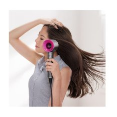 Review Dyson Pengering Rambut Supersonic Hd01 Wsn Dyson Supersonic White Silver Pink Diproduksi Di Korea Intl