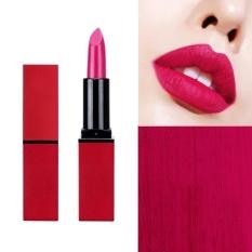 Eachgo Seksi Panjang Tahan Lama Velvet Lipstik Pelembab (3 #)-Intl