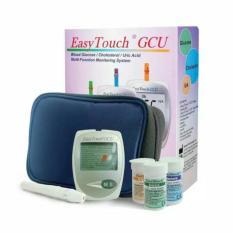 Toko Easy Touch Gcu Alat Tes Darah Untuk Gula Darah Glucose Kolesterol Cholesterol Asam Urat Uric Acid Lazpedia Terdekat