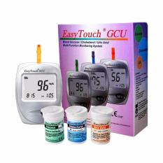 Review Terbaik Easy Touch Gcu Alat Tes Gula Kolestrol Asam Urat 3 In 1