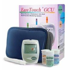 Beli Easy Touch Gcu Meter Alat Cek Tes Kolesterol Asam Urat Gula Darah 3In1 Putih Pake Kartu Kredit