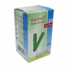 Jual Easy Touch Strip Blood Glucose Strip Tes Gula Darah Isi 25 Grosir