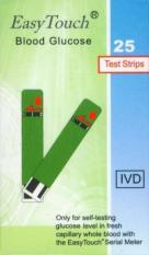 Toko Easy Touch Strip Glucose Strip Tes Gula Darah 25 Strip Lengkap Di Indonesia