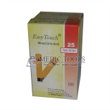 Spek Easy Touch Test Strips Urid Acid Strip Asam Urat Oranye Isi 25 Buah