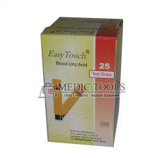 Spesifikasi Easy Touch Test Strips Urid Acid Strip Asam Urat Oranye Isi 25 Buah Merk Easy Touch