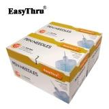 Promo Easythru Kenyamanan Tanpa Rasa Sakit 32G 23 4 Mm Insulin Pena Jarum 100 Pcs Box Gratis Pengiriman Intl Di Tiongkok