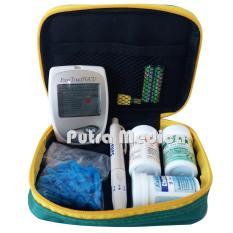 Putra Medica Easytouch GCU 3in1 Alat Cek Gula Darah, Kolesterol & Asam Urat / Alat Tes Diabet / Alat Cek Diabetes