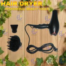 EELIC PER-W2200 Alat Pengering Rambut Profesional Hair Dryer Daya 2200 WATT Dengan Diffuser Alat Ikal Dan Gelombang Pada Rambut