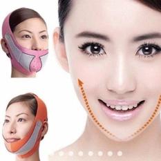Efektif V-shape Wajah Angkat Up Sabuk (PINK)-Intl