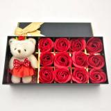 Dimana Beli Effie Flower Gift Box Doll 12Pc Bunga Mawar Fragrance Flower Rose Red Rose Effie Flower