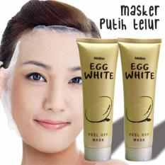 Egg White Peel Off Mask Masker Putih Telur Murah