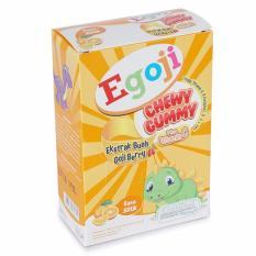 Egoji Chwey Gummy   Multivitamin Anak Extra Buah Goji Berry Rasa Jeruk 1 Box - 5 sachet