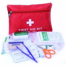 Eigia P3K Home Outdoor First Aid Kit 13 in 1 Paket Lengkap 13in1 Isi Alat Pertolongan Pertama pada Kecelakaan Terluka Saat Berpetualang Adventure Survival ...