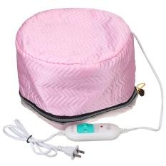 Beli Barang Electric Perawatan Rambut Termal Kecantikan Steamer Spa Nourishing Perawatan Rambut Cap Pink Intl Online