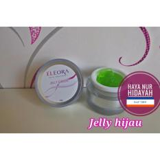 Review Toko Eleora Jelly Cream Green