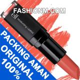 Ulasan Elf Moisturizing Lipstick Coral Cutie With Packaging