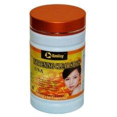 Spesifikasi Emilay Whitening Softgel Obat Pemutih Badan Wajah Herbal Alami 60Capsules Bagus