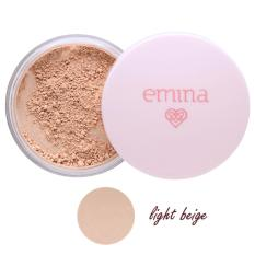 Jual Emina Bare With Me Loose Powder Bedak Tabur 02 Light Beige Original