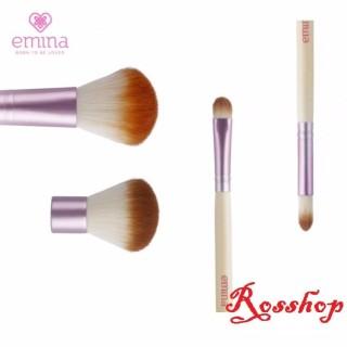 Emina Brush Set Brush - 4 kuas thumbnail