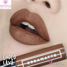 EMINA Creamatte Lip cream 01 Choco lava