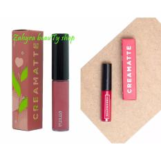 Emina Creamatte Lip cream 03 Mauvelouse dan 06 Jelly Bean (PAKET HEMAT)