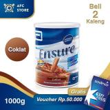 Jual Ensure Coklat 1000Gr 2 Kaleng Sodexo 50 000 Baru