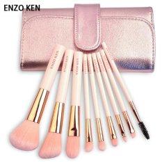 Jual Enzoken Beginners Makeup Brush Sets Makeup Brush Set 9 Brush Colour Makeup Tools Eye Shadow Brush A Full Set Of Painting Intl Branded Original