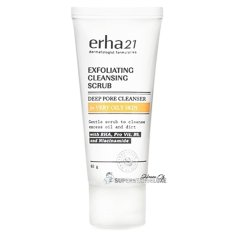 Erha Exfoliating Cleansing Scrub (scrub kulit berminyak)