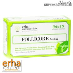 Dapatkan Segera Erha Follicore Herbal Box 60 Caps Penumbuh Rambut