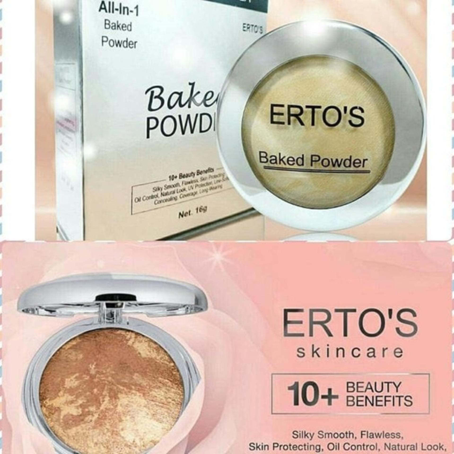 ERTOS Baked Powder all in 1 / Bedak Erto's