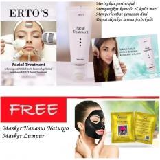 Beli Ertos F*c**l Treatment 100 Asli 100Ml Masker Hanasui Naturgo Masker Lumpur Baru
