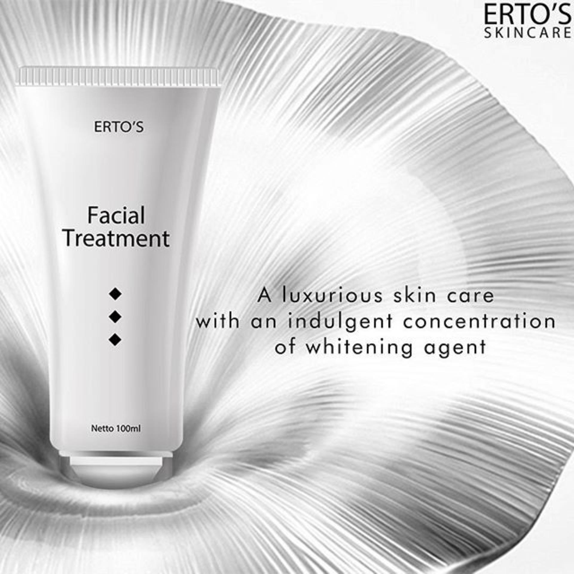 Penawaran Ertos Facial Treatment Krim Untuk Wajah Dan Muka Facian Skincare