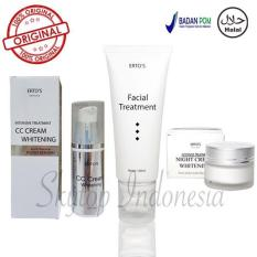 Ulasan Tentang Ertos Original Paket Ertos F*c**l Treatment Ertos Cc Cream Ertos Night Cream 3 Item