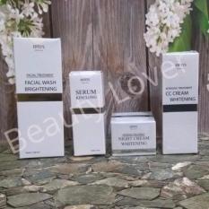 Promo Ertos Paket Whitening 2 Night Cream Cc Cream F*c**l Wash Serum Kinclong
