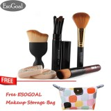 Beli Esogoal 10 Pcs Makeup Brushes Profesional Rambut Powder Foundation Pembersih Alis Wajah Puff Brush Pen Makeup Brushes Set Intl Online Murah