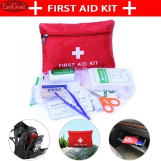 Jual Esogoal 13Pcs First Aid Kit Easy Protable Medicine Bag Case For Hiking Backpacking Camping Travel Car Cycling Intl Murah Tiongkok