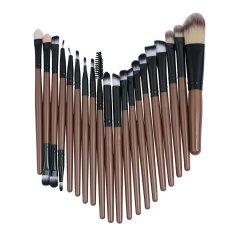 ... Kuas Makeup Set Alat Make-Up Perlengkapan Kamar Mandi Wol Sikat-Gagang Ungu Hitam Tabung-InternasionalIDR69000. Rp 71.000