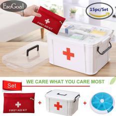 Beli Esogoal Lemari Obat Keluarga Kotak Medis Dan 13 Pcs First Aid Kit Dengan Gratis Esogoal Hadiah Pil Case