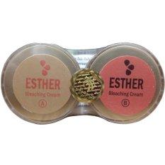 Harga Esther Gold Bleaching Cream A B Wajah Bersih Dan Mulus New
