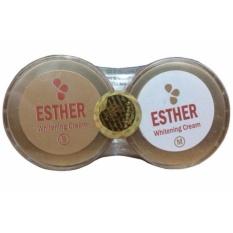Obral Esther Gold Whitening Cream S M Memutihkan Wajah Murah
