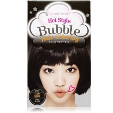 Review Etude House Hot Style Bubble Hair Coloring Bk01 Deep Black Di Indonesia