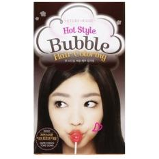 Review Etude House Hot Style Bubble Hair Coloring Br03 Dark Choco Tone Down