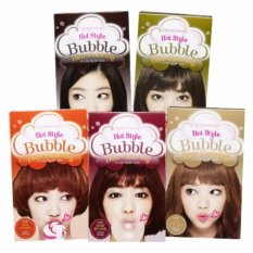 Etude House Hot Style Bubble Hair Coloring Cat Rambut Pewarna Rambut - #GR07 Khaki Brown