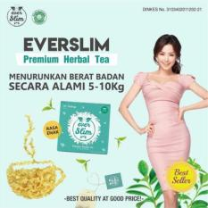 Jual Everwhite Everslim Tea Ever White Ever Slim Tea Import