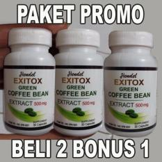 Exitox Green Coffe Asli Obat Pelangsing Alami Di Indonesia
