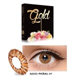 Exoticon X2 Ice Gold Softlens Hazel Gratis Lenscase Di Indonesia